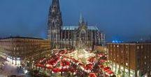 Weihnachten in Köln / Christmas in Cologne / Alle Jahre wieder lädt die festlich geschmückte Domstadt zum stimmungsvollen Bummeln, Flanieren und Stöbern ein.  |  Every year again Cologne invites visitors to stroll and browse through the festively decorated Cathedral city.