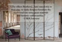 Quotes / A few quotes from clients and interior designers about our furniture.