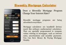 Biweekly Payment Calculator / A new opposite home loan finance calculator can be a device accustomed to estimate what kind of money you may have the opportunity to receive via a opposite house loan. To make use of these kinds of hand calculators, older folks just enter how old they are, residence worth, existing mortgage loan equilibrium as well as thought interest.
