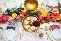 Brunches, Lunches and Dinner Parties