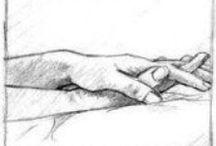 Hände & Füsse / Hände und Füsse sagen viel über den Menschen aus ... und seine Wünsche, Träume und Tun ....