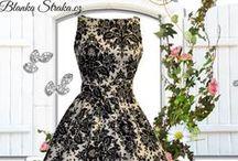 Inspirace jak nosit šaty / Vintage a retro šaty.