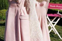 robe mariage et demoiselle d'honneur