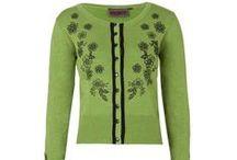 Svetry k retro šatům / Dámské svetříky s dlouhým rukávem