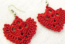 Crochet Accessories  / Earrings, Necklaces, Hair Items, Headbands and so much more