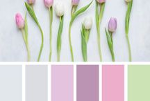Colour Inspiration / We are all so blessed with so many choices and there are just so many gorgeous colours to pick and choose from when creating something new or special