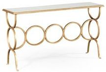Jonathan Charles Console Tables by Swanky Interiors / Jonathan Charles Console Tables, Demilune tables