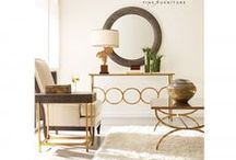 Hollywood Regency Style Furnishings For Your Home / Stunning Jonathan Charles Furniture pieces in Hollywood Regency style for your lounge, bedroom and dining room. Get inspired! Coffee tables, side tables, mirrors, lighting and gorgeous Jonathan Charles Accessories.