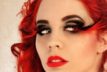Magical make up & heavenly hair. / Creative make up and fab hairstyles