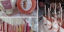 Vintage Baptism in Paros! / Ρομαντική βάπτιση σε αποχρώσεις του σάπιου μήλου!  Καλώς ήρθατε σε μία βάπτιση με ρομαντικό και κοριτσίστικο χαρακτήρα! Πολύχρωμα υφάσματα, δαντέλες, πέρλες, λουλούδια, ψάθινα καπέλα, ξύλινα μπαουλάκια με τεχνική παλαίωσης, καθρέπτες ομορφιάς συνδιάστηκαν για ένα άρτιο αποτέλεσμα!   Να μας ζήσει η μικρή Ηλιάνα!!!