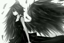 Black Wings / Since girl is not just about to smile.