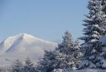 Winter in Lake Placid / Winter in Lake Placid is a sight to see! We welcome you to stay with us this winter. Come grab a hot cocoa, sit by our warm fireplace and relax without a worry in the world!