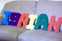 Crochet Alphabet / Block Letters in 5 sizes #enjoycrochet