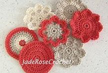 Crochet Home Decor Patterns / Warm up your home with textures, fibers, and colors.  #enjoycrochet