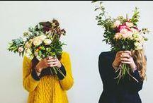 Vejo Flores em você /  Nós amamos um flower power por aqui. Porque a vida pode ser mais bonita e florida!