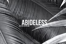 ABIDELESS | NOT FOR EVERYONE / ABIDELESS brings style that allows people to express their opinion through high-quality, handmade t-shirts which are quilted with derailed precision.