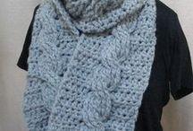 Handmade Accessories / Warm and wonderful crocheted accessories for sale at JadeRoseCrochet on Etsy. #enjoycrochet