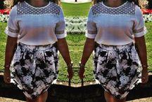 Midi skirts outfits / Looks com saias midi.
