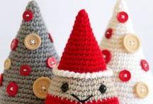 Jule hæklet og strikket