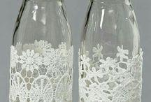 Decor bottles ideas