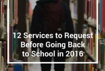 Back to School 2016 / Back to school season is quickly approaching. So, we gathered a list of the top 12 services to help you prepare!