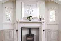 e l e g a n t   l i v i n g   r o o m / This stunning Edwardian living room was restored to it's former glory and combined with an elegant, yet contemporary style.