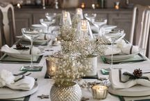 c h r i s t m a s   2 0 1 6 / Here are a few of our favourite Christmas inspirations, incorporating neutral palettes, antique gold and silver accessories.