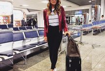 Aerolooks airport style / Looks para viagens confortáveis e estilosas!