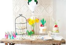 Fiesta Party Ideas / We love to Fiesta! Find inspiration for your next fiesta party using one of these fun ideas including cakes, decorations, party foods and favors. See more party & DIY ideas at PartyographyByAlli.com!