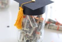 Graduation Party Ideas / Graduation party ideas -- grad cakes, decorations, party foods and favors. See more party ideas at PartyographyByAlli.com.