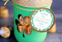 St. Patrick's Day Party Ideas / Find inspiration for your next St. Patrick's Day party using one of these fun ideas including desserts, decorations, party foods and favors. See more party ideas at PartyographyByAlli.com!