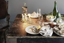 Tablescapes / The well styled table.