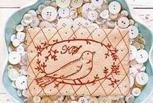 Stitching / The fabulous art of stitchery...