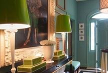 Hallways / by HomeRefiner  - Online Interior Design
