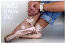 Ballet Pointe Shoes / by ItalianHeat