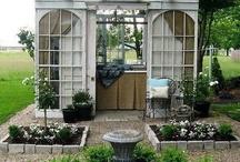 Garden Buildings / #gardening #garden #sheds #chickencoop #greenhouse #shelter #coldframe