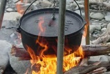 Dutch Oven / #dutchoven #preparedness #camping #campfire #alternativecooking / by Beuna | Garden Inspire