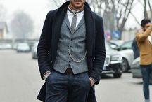 gentlemen's wear / by Stephanie Ingold