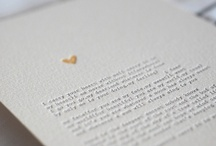 Letterpress and Typography / by Tamara S