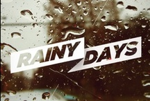 Rainy Days ☁ ☂ / by ItalianHeat
