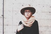 hats and scarves / by Stephanie Ingold