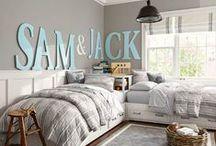Kids Bedrooms / Kids Beds, Kid Bedroom Decor, Kids Closets / by Tiffany Hewlett {Making The World Cuter}