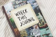 Wreck This Journal Ideas / by Hannah Schulte