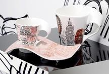 Newwave Café 2012 / Limitovaná kolekce nejprodávanějších designových šálků na kávu. V roce 2012 se jmenuje Cities of Europe.