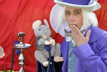 Mad Hatters Tea Party / Regent's Events wanted to showcase our outdoor space and services so organised an array of actitivies for all ages following the Alice in Wonderland theme from cup-cake and cocktail making stalls to giant chess boards and a croque lawn.