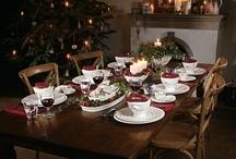 Vánoční stůl/Xmas table / Klasický, moderní, neotřelý - všechny nápady jsou Vám plně k dispozici