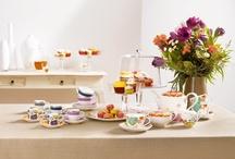Umění stolování/Art of Table / Příklady základního a nekomplikovaného stolování předvedeme na novince roku 2012. Anmut My Color kombinujeme se kolekcí Universal, Bloom, Graphic a Geometry.