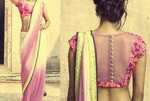 Sari Blouse / Sari blouse, saree blouse, choli, DIY saree blouse inspirations / by June Girl