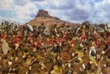 Colonial Warfare / A military history board covering overseas conflicts such as the Anglo/Zulu War and the Boer Wars