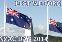 Australia Day / Celebrating all things ANZAC-related, on Australia Day 2015 – 26 January